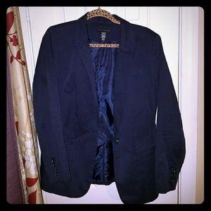 Apostrophe Navy Blue Blazer Jacket Size 12